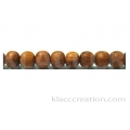 Bayong Round Wood Beads 3mm