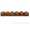Bayong Round Wood Beads 8mm