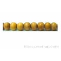 Nangka Round Wood Beads 4mm