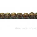 Palm Wood Round Beads 6mm