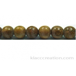 Robles Round Wood Beads 8mm