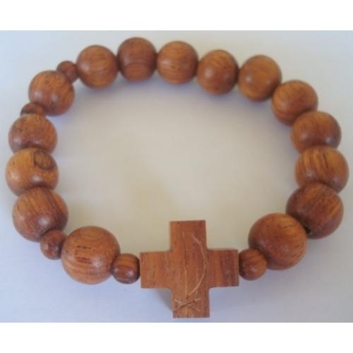 Bracelet Rosary Bayong Wood 10mm