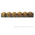 Rosewood Round Beads 6mm