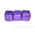 20mm Cubes Capiz Shell Violet