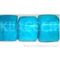 20mm Cubes Capiz Shell Blue